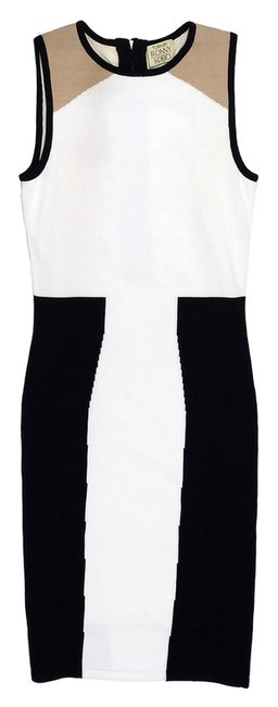 Preload https://item4.tradesy.com/images/torn-by-ronny-kobo-white-and-black-colorblock-knee-length-workoffice-dress-size-0-xs-5042263-0-0.jpg?width=400&height=650