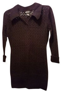 Adolfo Crochet Sweater