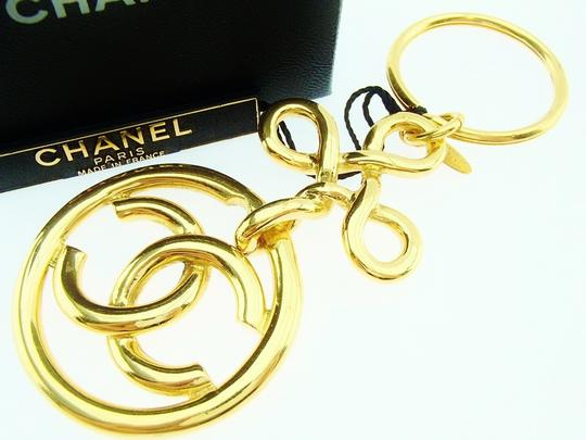 Chanel Authentic CHANEL Vintage CC Logos Gold Key Holder Bag Charm