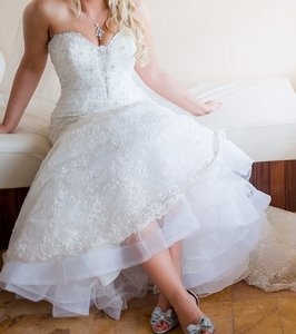Allure Bridals Allure Bridals Mermaid Strapless Dress C200 Wedding Dress