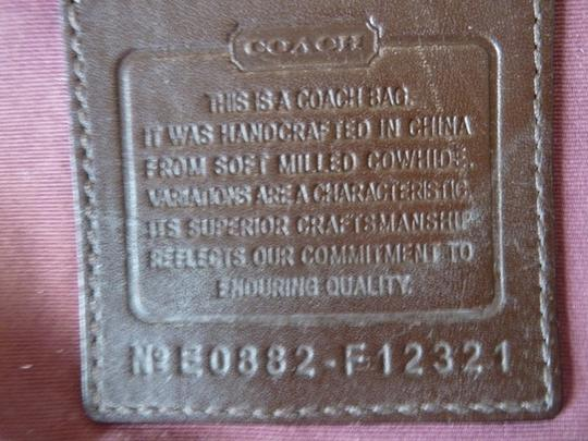 Coach Pebbled Leather Cross Body Bag