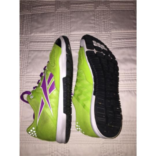 Reebok Lime green and purple Athletic
