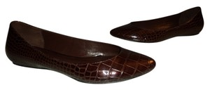 Banana Republic Ballet Shiny Brown Flats