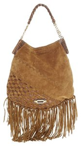 Jimmy Choo Suede Brown Hobo Bag