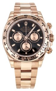 Rolex Rolex Cosmograph Daytona 18K Rose Gold Men's Watch
