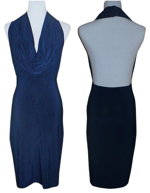 Preload https://item1.tradesy.com/images/norma-kamali-for-everlast-navy-blue-backless-halter-band-above-knee-night-out-dress-size-2-xs-5060305-0-6.jpg?width=400&height=650