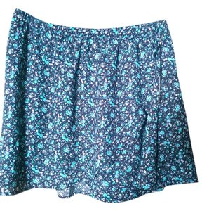 Forever 21 Mini Skirt Black/blue multi