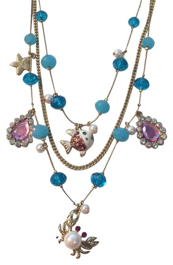 Preload https://item2.tradesy.com/images/betsey-johnson-gold-under-the-sea-necklace-5060641-0-3.jpg?width=440&height=440