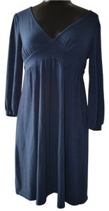 Ella Moss short dress Blue Modal on Tradesy