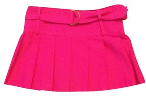 One Heart Skirt Fuchsia
