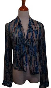 Diane von Furstenberg Top Blues