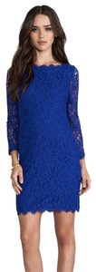 Diane von Furstenberg short dress Blue Iro Tory Burch Zimmermann on Tradesy