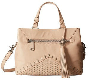 Rafe New York Stud Studded Satchel in Blush