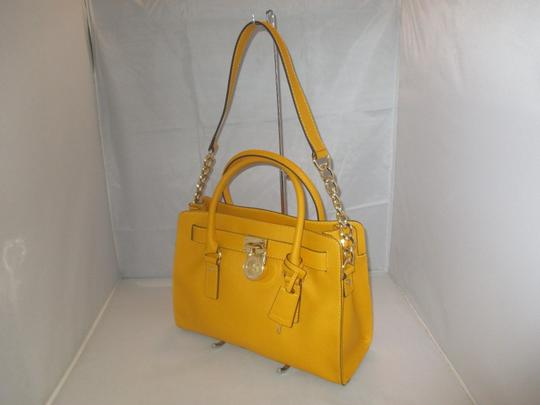 Michael Kors Next Day Shipping Satchel in Yellow ( Sun )