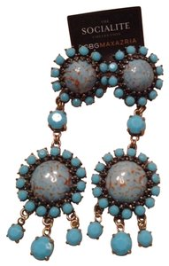 BCBGMAXAZRIA Bcbg Socialite Turquoise Earrings