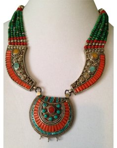 Other Embellished by Leecia Tibetan Necklace Only! Matching Pieces Sold Seperately.