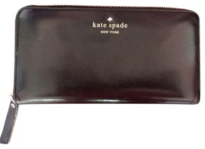 Kate Spade Kate Spade Lacey Black Leather Wallet