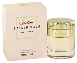 Cartier NIB Cartier Baiser Vole Perfume for Women 1oz EDP Spray