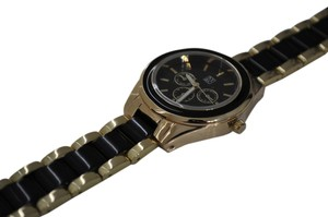 New York & Company New York & Company Gold Watch with Black Accents