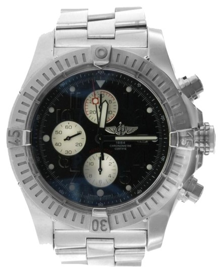 Breitling MEN'S BREITLING SUPER AVENGER STAINLESS STEEL WATCH WITH APPRAISAL