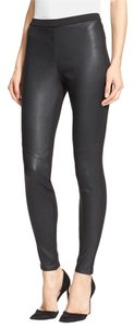 Joie Leggings Leather Leather Leggings Vierra Belveder Lambskin Pants