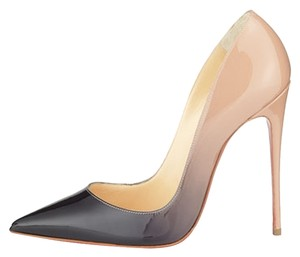 Christian Louboutin Ombre Nude/Black Pumps