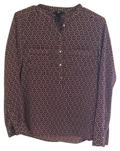 H&M Button Down Shirt Print