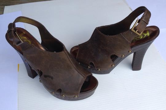 Kensiegirl Dark brown Platforms