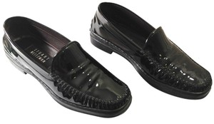 Stuart Weitzman Loafer Black Patent Leather Flats