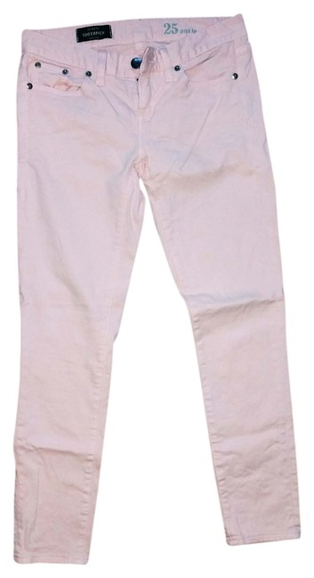 J.Crew Light Baby Ankle Toothpick Skinny Jeans-Light Wash