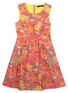 Ark & Co. Print Fitted Dress