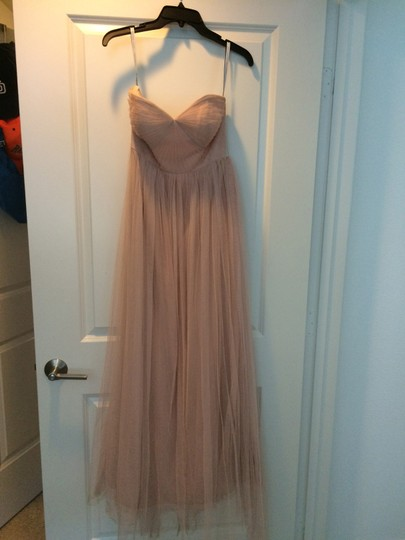 Jenny Yoo Blush Soft Tulle 127179 Formal Bridesmaid/Mob Dress Size 0 (XS)