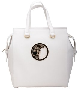 Versace Collection Tote in White
