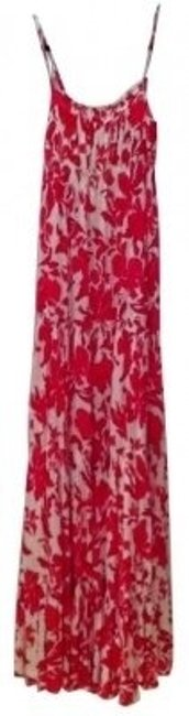 coral and white Maxi Dress by Juicy Couture
