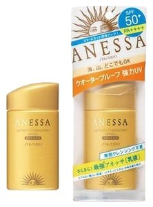 ANESSA Shiseido Anessa Perfect UV Sunscreen SPF 50 + 60ml Made in Japan