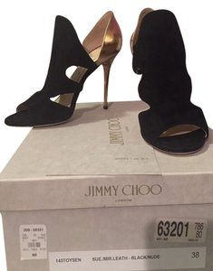 Jimmy Choo Size 8 Bootie Pump BLACK Pumps
