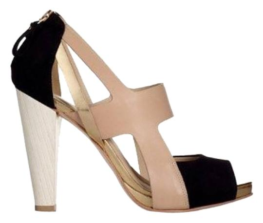 Coye Nokes 'kai' Suede And Leather Platforms
