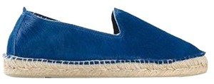 Manebi 'dakota' Espadrilles In Electric Blue Flats