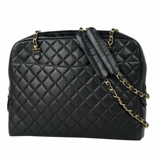 Preload https://img-static.tradesy.com/item/5068420/chanel-jumbo-pristine-black-lambskin-leather-shoulder-bag-0-1-540-540.jpg