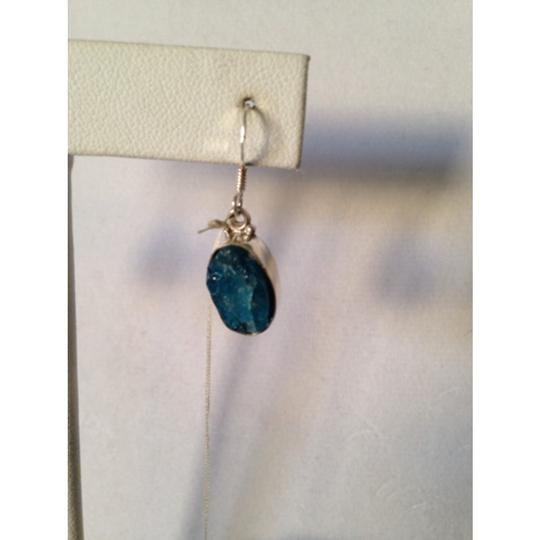 Other Embellished by Leecia Neon Apatite Rough Earrings Only! Matching Pieces Sold Seperately. Image 2