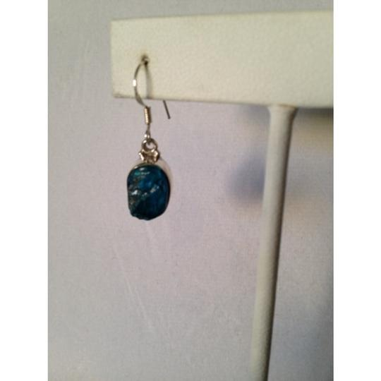 Other Embellished by Leecia Neon Apatite Rough Earrings Only! Matching Pieces Sold Seperately. Image 3