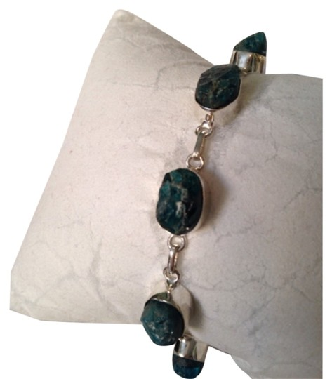 Other Embellished by Leecia Neon Apatite Rough Bracelet Only! Matching Pieces Sold Seperately.