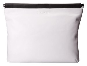 L.A.M.B. Colorblock Colorblocked White Clutch