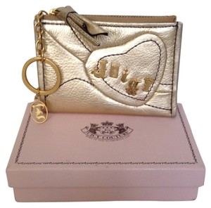 Juicy Couture Juicy couture leather money key chain wallet