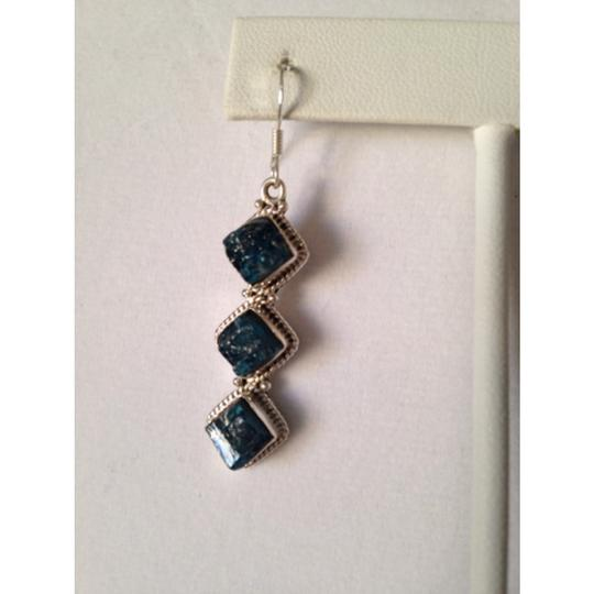 Other Embellished by Leecia Neon Apatite Earrings Only! Matching Pieces Sold Seperately. Image 1