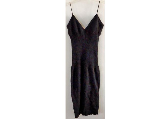 Cesare Fabbri Italian Fitted Wool Dress
