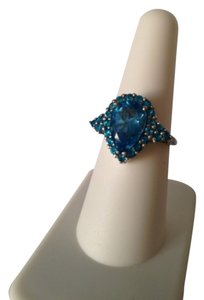 Embellished by Leecia Apatite/Topaz Ring, Size 7