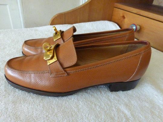Hermès brown leather Formal Image 3