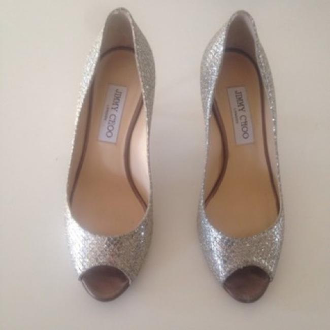 Item - Silver Pumps Size US 6.5 Regular (M, B)