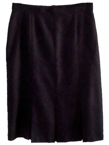 katies Pleated Machine Washable Skirt black